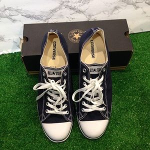 *new* CONVERSE • Sneakers Low Top Navy Blue